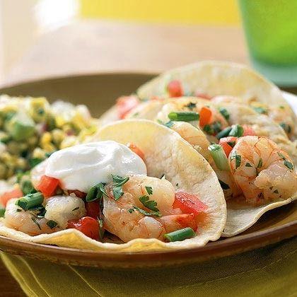Shrimp Tacos by Cooking Light | Stick figure | Pinterest