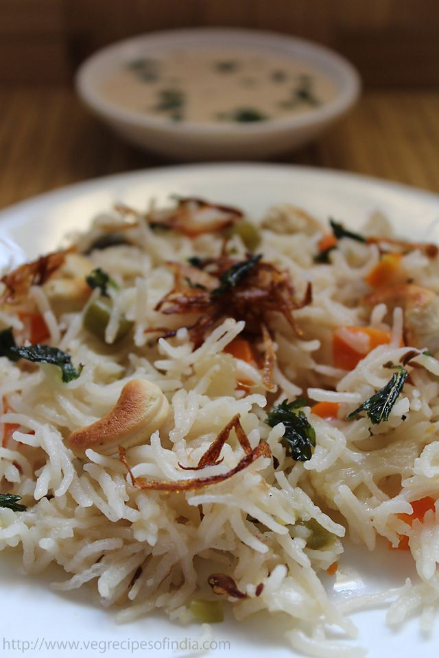 Vegetable yakhni pulao | Recipe