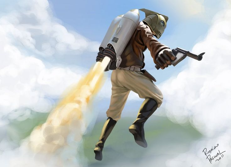Rocketeer by Super Pascoal
