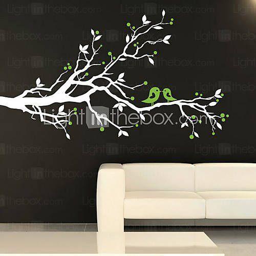 CAD $ 41.68] Arbre Birds Wall Sticker  Chambre bébé  Pinterest