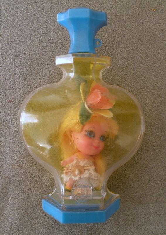Honeysuckle Little Kiddles Kologne Doll