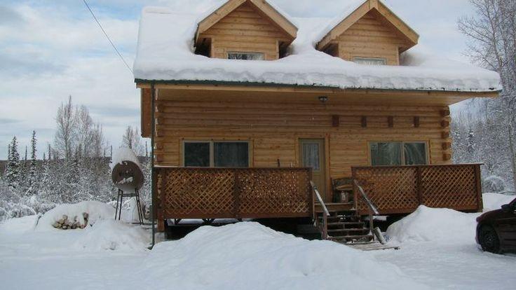 Log cabin for sale fairbanks alaska alaska the last for Alaska cabin builders