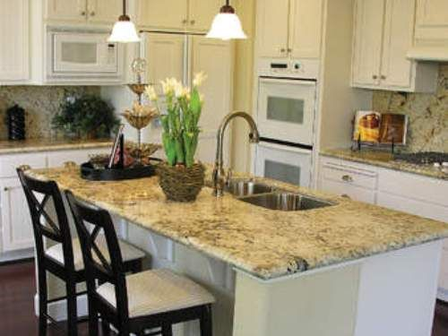 L shaped kitchen with island ideas for the home pinterest for Kitchen designs l shaped with island