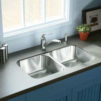 Costco: Sterling by Kohler? Stainless Steel Undermount Equal Double ...
