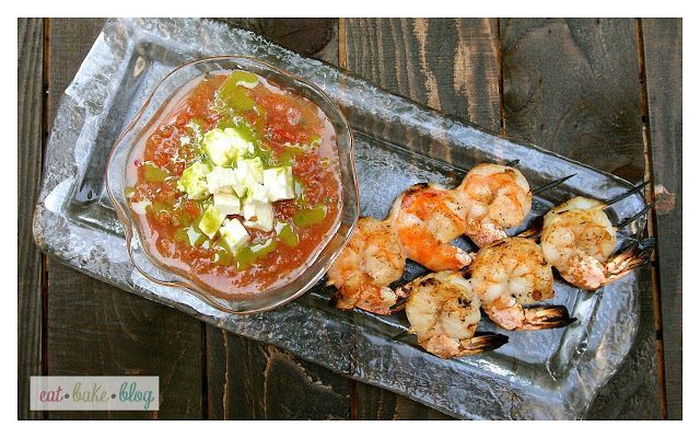 shrimp grilled gazpacho salad grilled jumbo shrimp and gazpacho shrimp ...