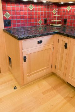 outstanding design kitchen interior decoration with stone flooring