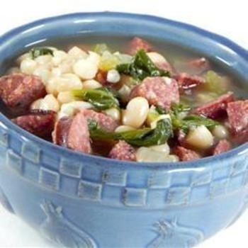 Sausage, Kale, and White Bean Soup | Design | Pinterest