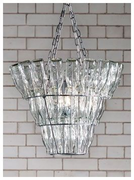 Fabulous chandelier to offset the industrial look £140