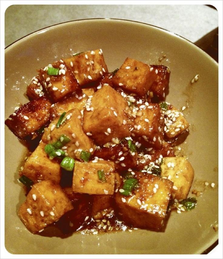 Sesame tofu! | Vegan | Pinterest