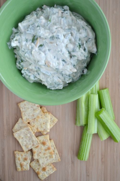 Easiest Ever Spinach Dip - fresh spinach used so no thawing/draining ...