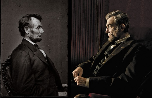 Lincoln. Daniel Day Lewis.