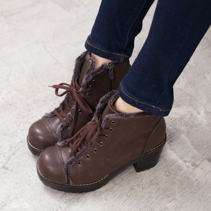 heel ankle boots brown shoes and boots