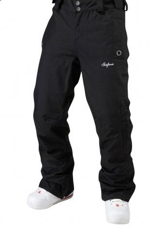 Surfanic Womens Mellow Recycled Pant Black