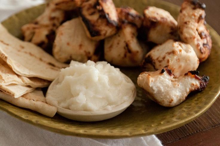 Whipped Garlic Sauce | food. dips & apps. | Pinterest