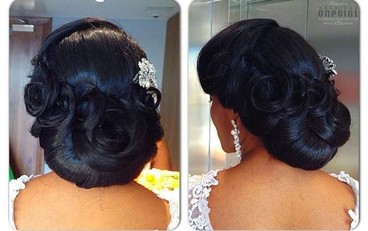 wedding hairstyles for african american brides : African American. Black Bride. Wedding Hair. Natural Hairstyles. https ...