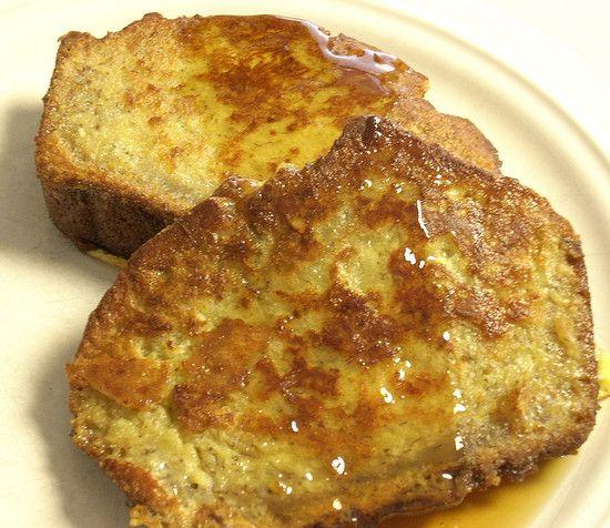 Banana Bread French Toast--freakishly good! Recipe.