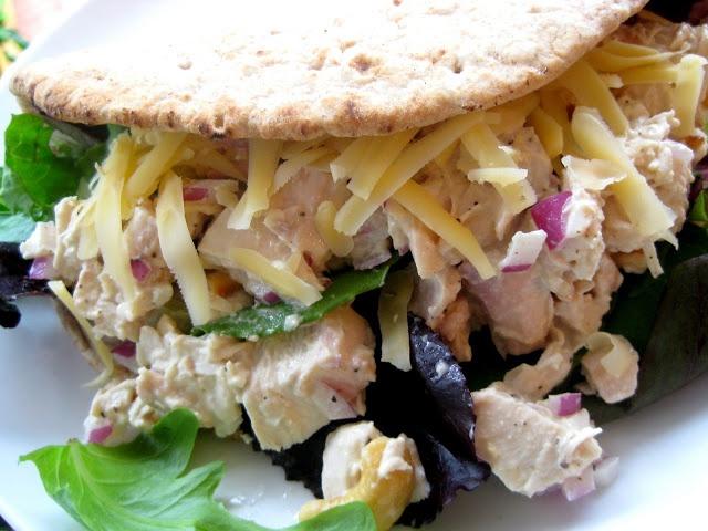 Cashew Chicken Salad Wraps Recipe — Dishmaps