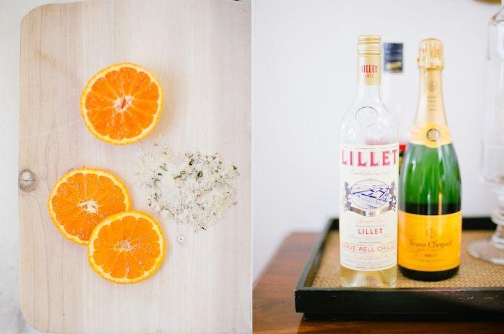 Burnt Oranges With Rosemary Recipe — Dishmaps