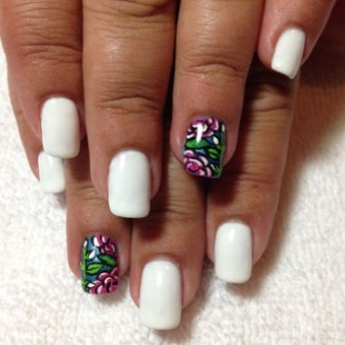 photo 33 Ideas with Dream Catcher Nail Art