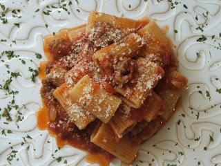 ... –Angie's Pantry: Simple Supper-Rigatoni with Meat Sauce