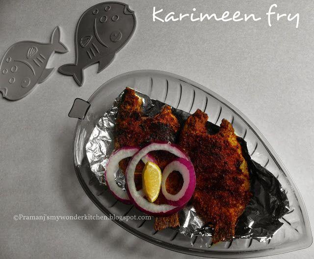 Karimeen porichathu pearl spot fish fry