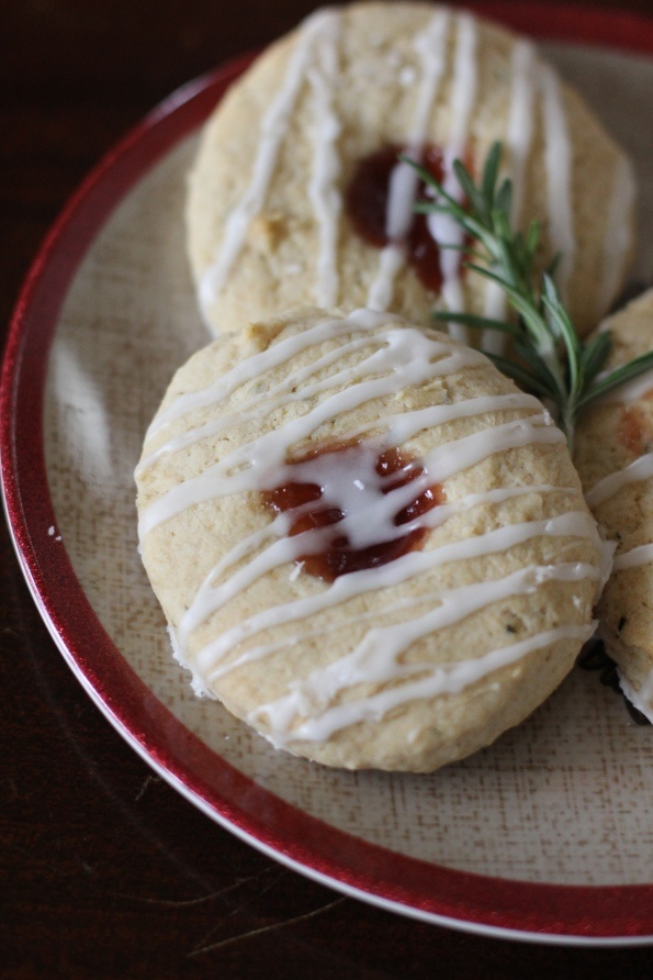 Rosemary Strawberry Lemon Scones | delicious delights | Pinterest