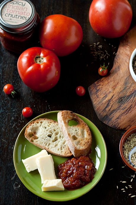 Spicy Indian Tomato Chutney | food and drinks | Pinterest