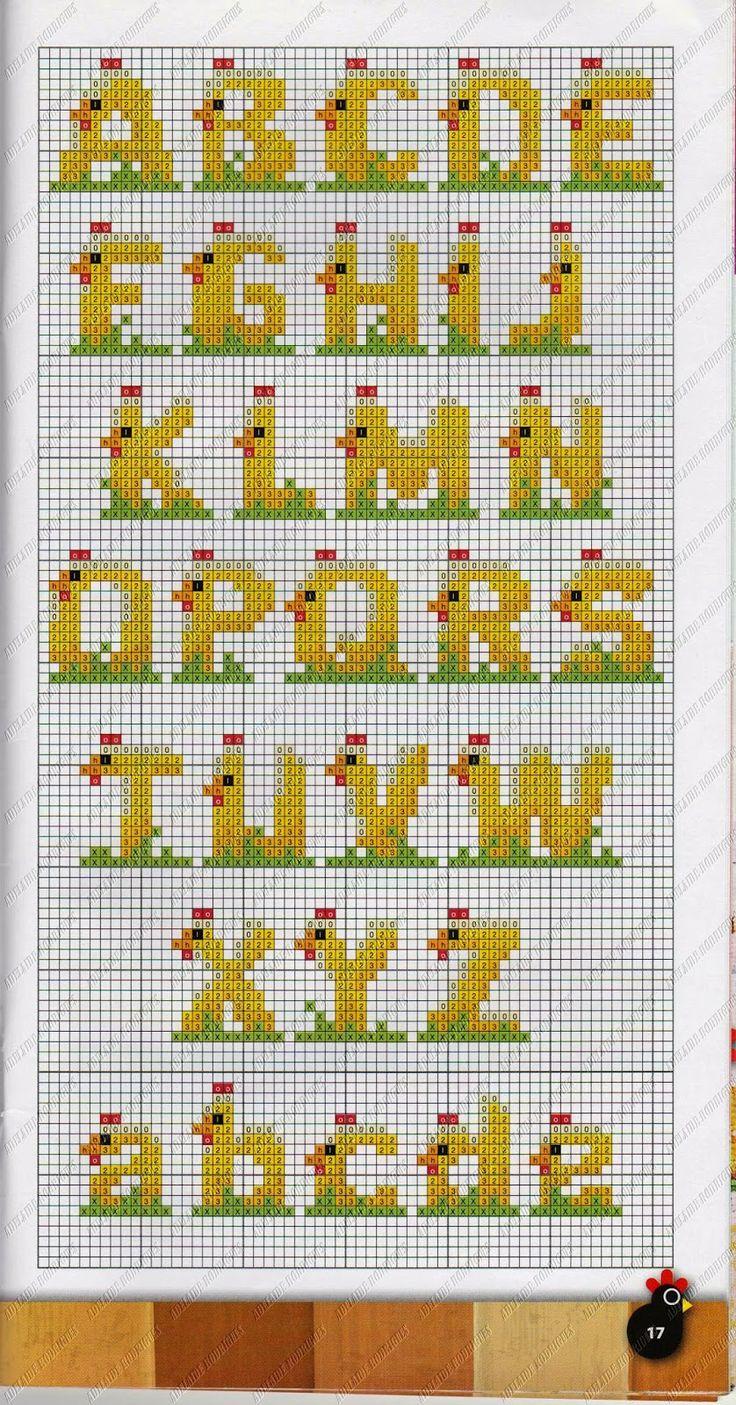 Easter Alphabet Perler Bead Pattern Nemt For B 248 Rn