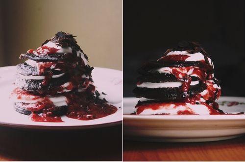 black forest pancakes | Food and Dessert | Pinterest