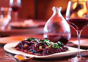 Zinfandel Spaghettini with Spicy Rapini | Recipes to try | Pinterest