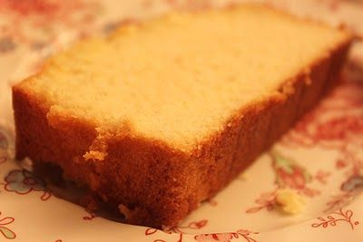 Well-Seasoned Life: Grandmother's Pound Cake