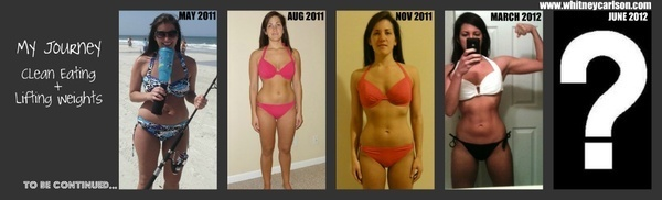My Journey: Clean Eating + Lifting Weights cool