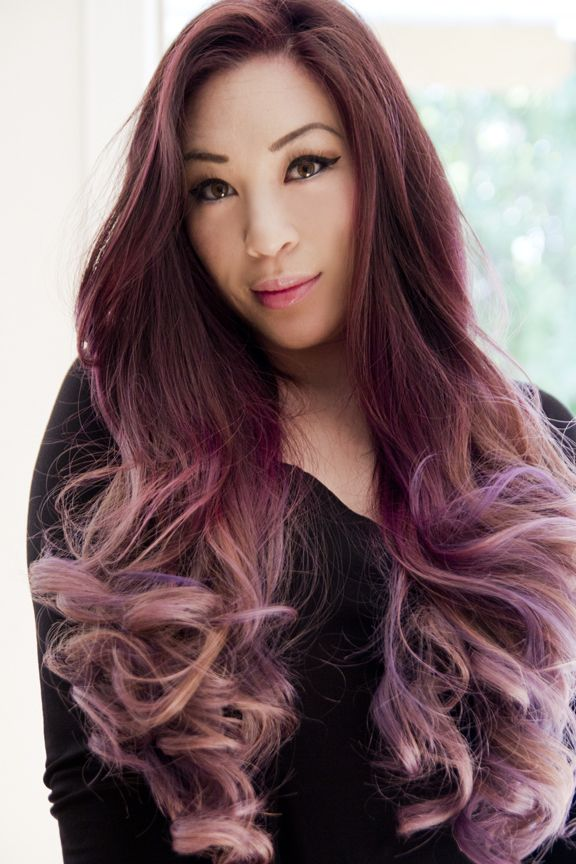 Lilac Ombre | hair-inspiration | Pinterest