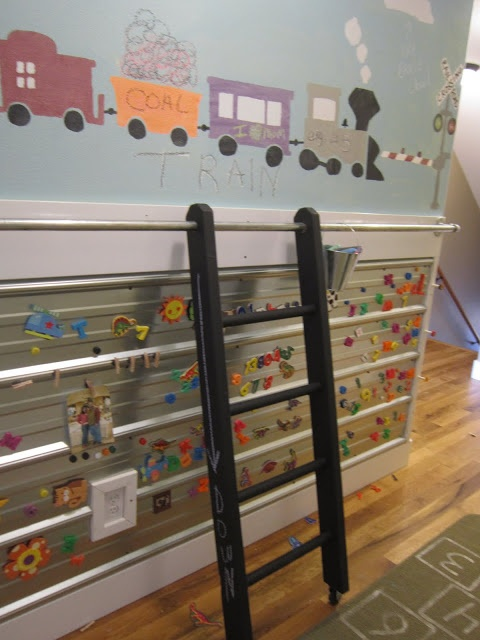 diy library ladder shelves pinterest
