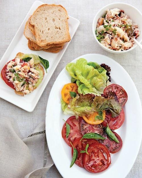 Build-Your-Own Crab Salad Sandwiches - Martha Stewart Recipes