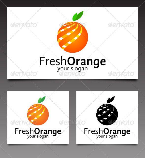Orange Splat Logo Logo Graphicriver Fresh Orange