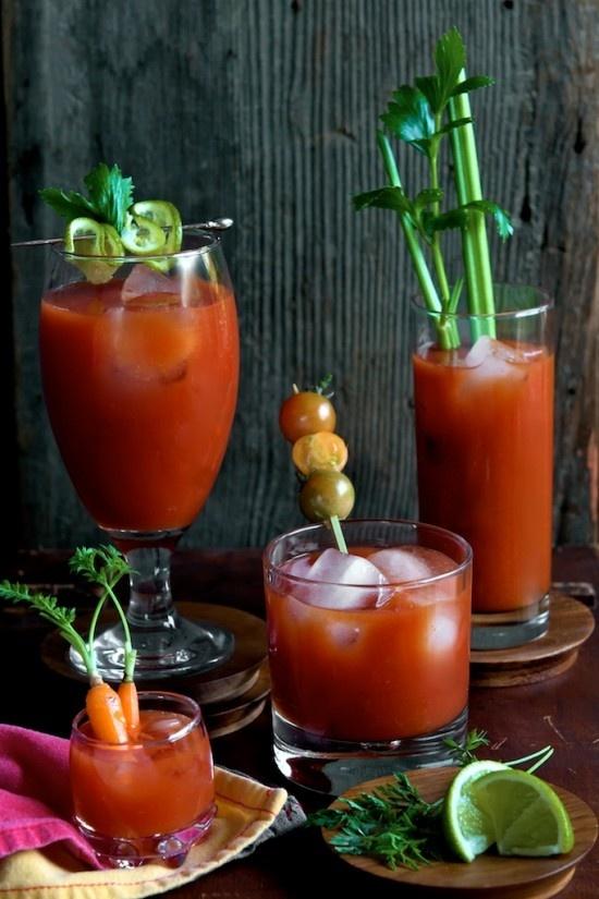 Sriracha Bloody Mary Recipe 2 oz. Vodka 4 oz. Tomato Juice 1/2 oz ...