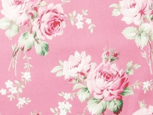 so shabby chic pink and mint green roses