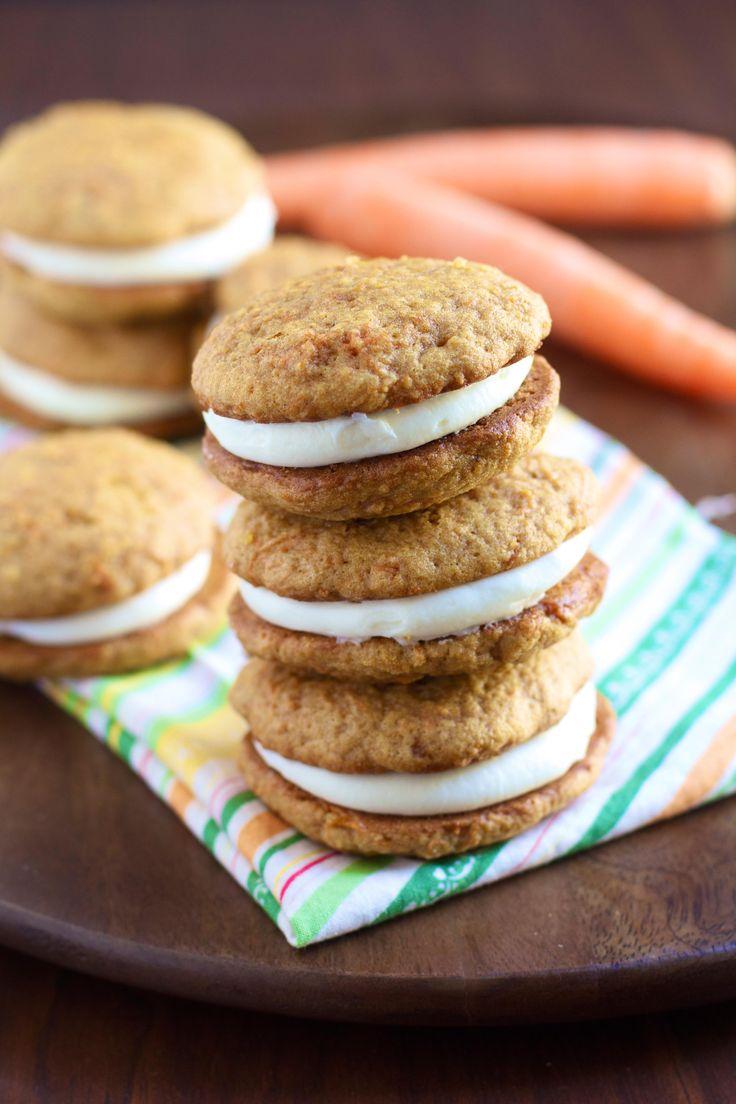 Carrot Cake Whoopie Pies | Sweet Tooth! | Pinterest