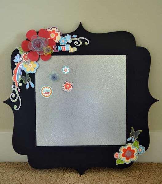 embellished frame or mirror