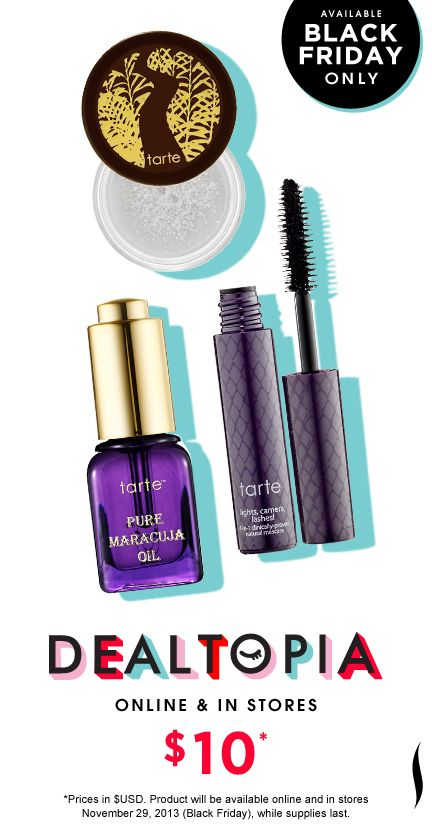 Black Friday Preview: Tarte Little Miracles Best Selling Essentials #Dealtopia #Sephora #blackfriday
