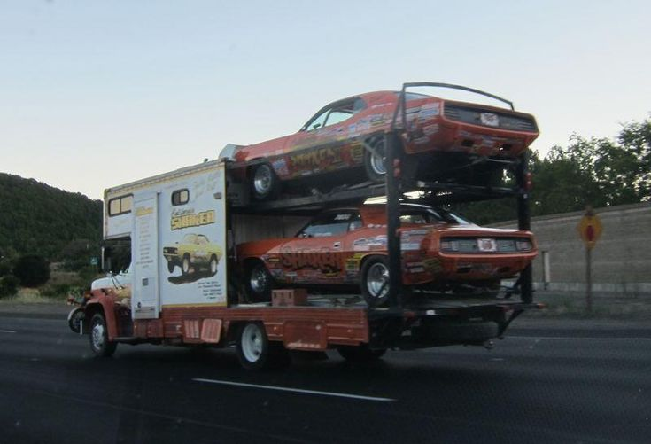 Very Cool Race Car Hauler.  Car Carriers amp; Haulers  Pinterest