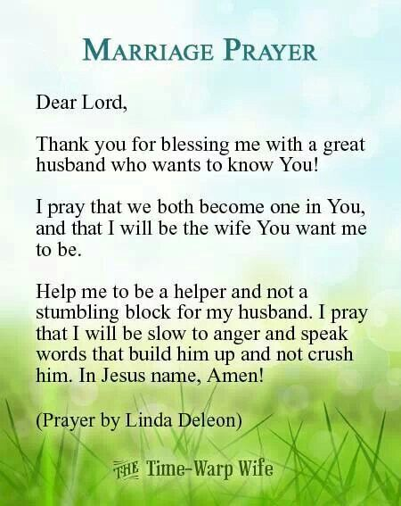 Marriage Prayer For Women Lovespirit 76