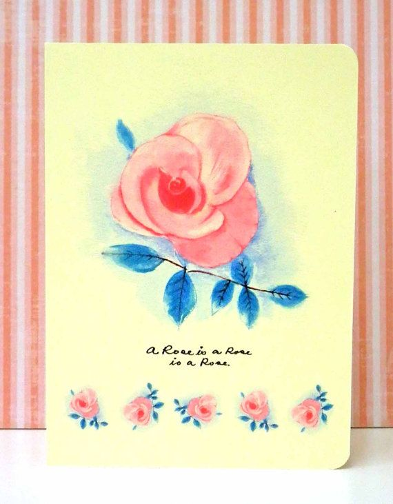 valentine rose card