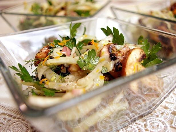 Fennel and Mushroom Salad | Recipe