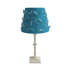 xhilaration butterfly shade table lamp bedroom momma pinterest