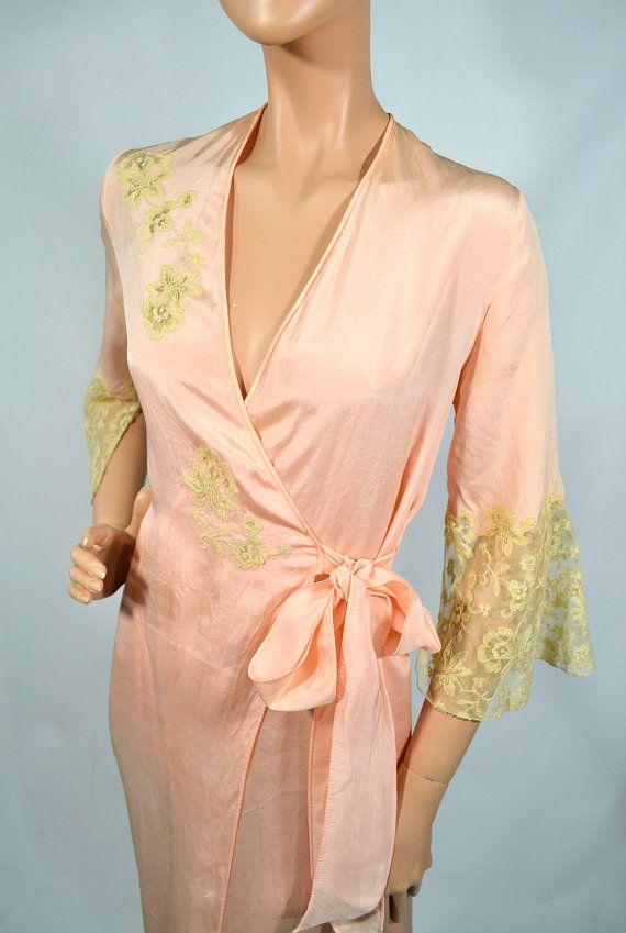 beats.com cheap Sweet Dreams Vintage 2039s 3039s Pink Silk Crepe Lace Narcissus Flow