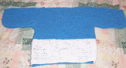 Guideposts Knit for Kids Sweater Crochet Instructions