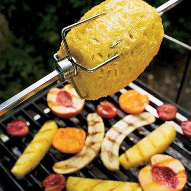 Grilled Fruit with Lemon Zabaglione | Recipe