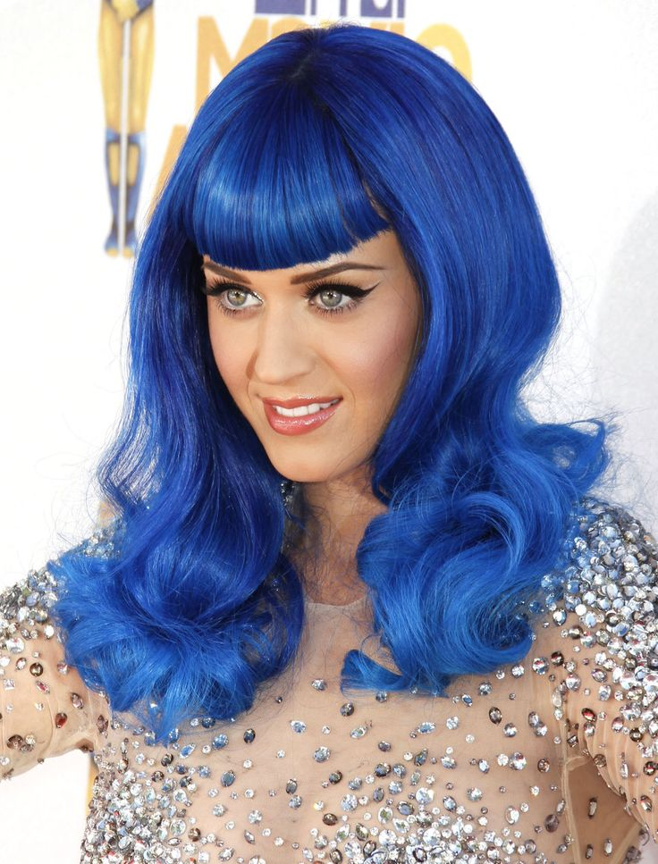katy perry awesome blue hair | {Lifestyle} Costume Party ...